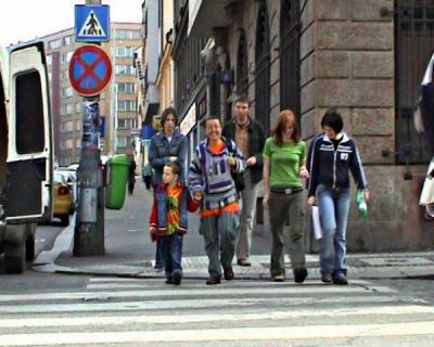 Martina, Miloš, Rasta, Bára, Janina, Miládka. (zleva zezadu) Cesta k Císaři :)